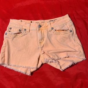 Miss me shorts size 30